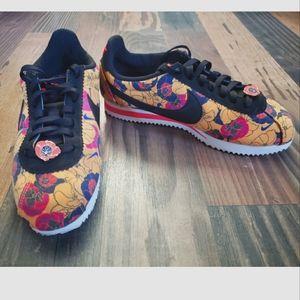 NIKE CORTEZ   Floral Print Sneakers